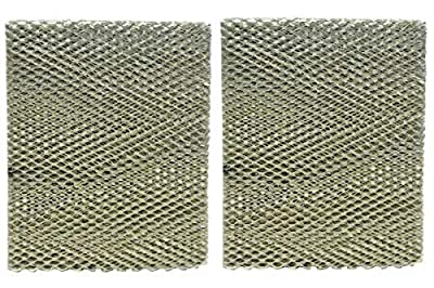 """HASMX 2-Pack HC26E1004 Humidifier Filter Replacement Pads for Honeywell HE260B, HE265A, HE265B, ME360, HE360A, HE360B, HE365A, HE365B Humidifier Wicking Filters - Dimensions: 10"""" x 13"""" x 1-5/8"""""""