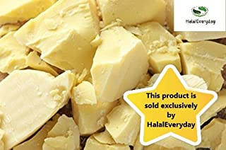 1 Lb Cocoa Butter - Pure Raw Unprocessed Incredible Quality and Scent. Use for Lotion, Cream, Lip Balm, Oil Stick or Body Butter. NON-GMO By SaaQin imported from Peru-