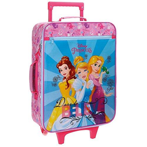 Maleta de Las Princesas de Disney - 25 Litros (Rosa)