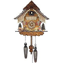 Adolf Herr Quartz Cuckoo Clock - in The Black Forest AH 21 QM