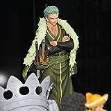 LCFF Figura Anime Figure One Pieza Figura de acción Roronoa Zoro 17cm Figurine Colección Estatua Adornos Decoración Niños Juguetes Doll Regalo (Color : Roronoazoro)