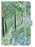 Premium Timer Midi Forest - Kalender 2021 - Korsch-Verlag - Taschenkalender mit Stifthalter, Lesebändchen und Zetteltasche - eine Woche auf 2 Seiten - Buchkalender 10,8 cm x 14,8 cm