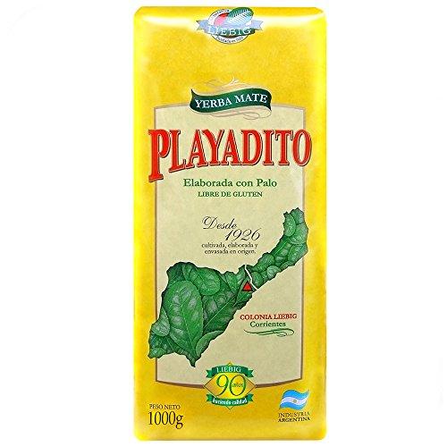 Playadito 1Kg - leckerer Mate Tee aus Argentinien mit Stengelstückchen. Trinken wie die Gauchos.