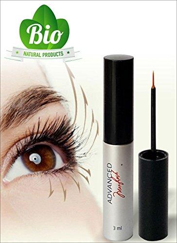 MAXLASH Luxury Natural Herbal Eyelash Growth Serum 3ml-Best Enhancing Eyelash Treatment.Grows Longer, Fuller, Thicker Eyelashes in one Month.