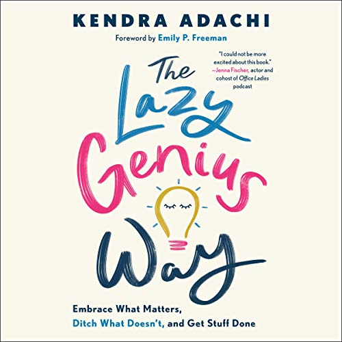 The Lazy Genius Way  By  cover art