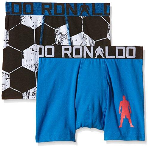 CR7 Cristiano Ronaldo BOYS Boxershorts Jungen 2-Pack (CR7-8400-5100-473-146/152)