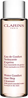 Clarins Water Comfort One Step Cleanser with Peach Essential Water for Unisex, 200ml