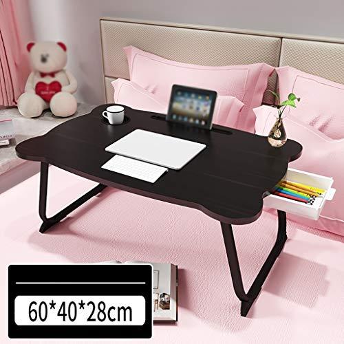 Mesa de ordenador Mesa pequeña cama, hogar plegable escritorio, sencillo escritorio de la computadora en el dormitorio, dormitorio ventanal escritorio, mesa de ordenador en casa plegable, adecuado for