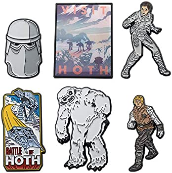 Star Wars Hoth Enamel 6 Pin Set