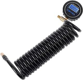 keaiduoa Digital Tire Pressure Gauge Car Bike Motorcycle Tyre Tester Air PSI Meter 1//8NPT