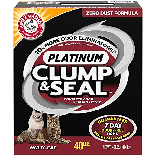 Arm & Hammer Platinum Clump & Seal Cat Litter