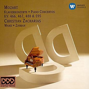Mozart: Piano Concertos Nos.20, 21, 23 & 27