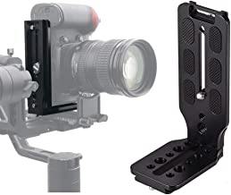 DSLR Camera L Bracket Quick Release Plate Vertical Video Shooting Universal L Bracket with 1/4 Inch Screw Arca Swiss for M...