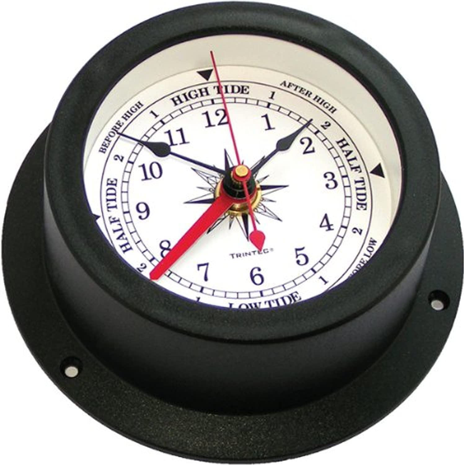 Trintec Vector Nautical Marine Vector Collection Tide & Time Clock (White) VECW02 High and Low Tide Indicator