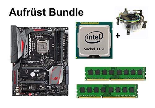 Aufrüst Bundle ASUS Maximus VIII Hero + Intel Core i3-6320 + 32GB RAM #120812
