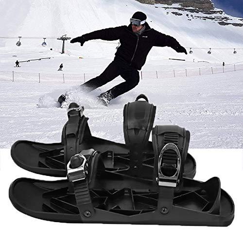 Zhyaj Mini Raquetas de Nieve para Hombres y Mujeres, Raquetas de Nieve para Adultos de Deportes de Invierno, adecuados para montañismo y Juegos de Nieve