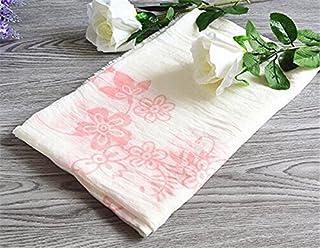 スカーフ 大判 秋冬スカーフ 薄ストール 大判サイズ スカーフ スカーフ可愛い 巻く物 コットン 柔らか素材 肩掛け (ピンク)