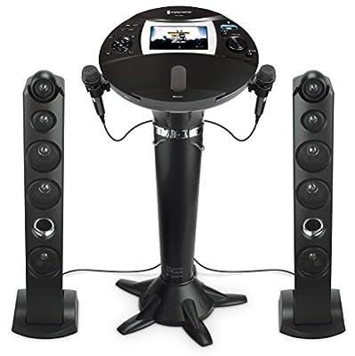 The Singing Machine ISM1060BT Hi-Def Pedestal Karaoke System,