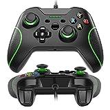 Xbox One Mando Controlador de Gamepad Alámbrico con LED Luz para Windos 7/8/10, XBOX ONE, PC, TV...
