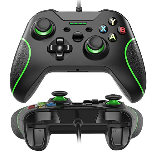USB filaire Xbox One Controleur manette Gamepad Joypad Ergonomisches Design Für Xbox One PC Schock Vibration