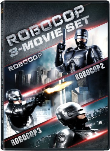 RoboCop: Trilogy Collection [Blu-ray] $9.96, [DVD] $7.50 at Amazon