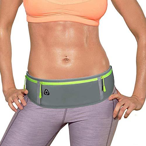 LocoJoy Best Comfortable Adjustable Running Belt with Reflective Strip that...