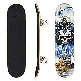 WeSkate Longboard Fishtail 40 Zoll Lange Cruiser Skateboard...