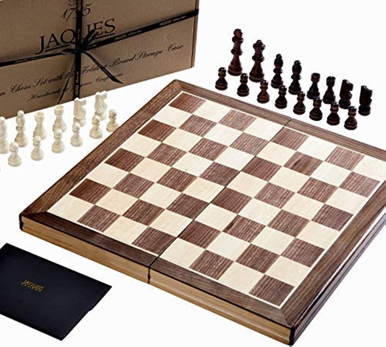 Jaques Faltschachset 15 Zoll Komplett mit 3-Zoll-Schachfiguren - Qualitätsschach seit über 150 Jahren B07BL2M9G2 Modisch     | Komfort