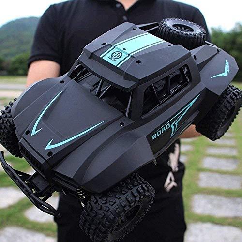 Rekaf Modelo de automóvil Modelo de juguete infantil AA - 4 WD Electric RC  Motor potente Batería recargable  80 M Control Distancia Regalo para niños 1:14 Roca Crawler Monster Truck Carro Remoto Du