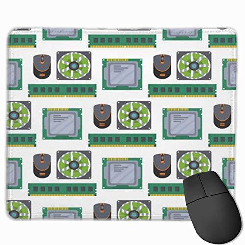 Muismat, bureau-muismat, muismat, samenvatting, chip-technologie, processorschakeling moederbord informatieplaat