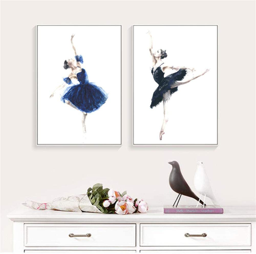 UHYGT Elegant Dancing Ballerina Poster Prints Wall Ranking TOP10 and Super beauty product restock quality top Abstract
