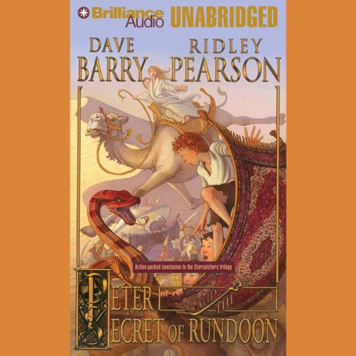 Peter and the Secret of Rundoon cover art