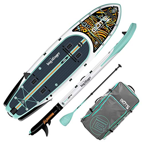 BOTE Rackham Aero Inflatable Fishing Stand Up Paddle Board Review