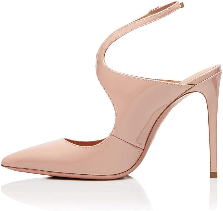YOJDTD Schuhe Damenschuhe Sandalen Sandalen mit hohem hohem hohem Absatz Damen Einzelschuhe, Akt, 44  81d7ea