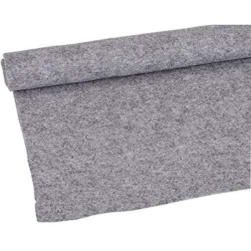 New CC20LGR 20-Feet Long by 4 Feet Wide, 80 Square Feet Light Gray (Light Charcoal) Carpet for Speaker Sub Box Carpet Home, Auto, RV, Boat, Marine, Truck, Car Trunk Liner