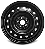 xd wheels 16 -   Road Ready Car Wheel For 2008-2014 Scion XD 16 Inch 5 Lug Black Steel Rim Fits R16 Tire - Exact OEM Replacement - Full-Size Spare