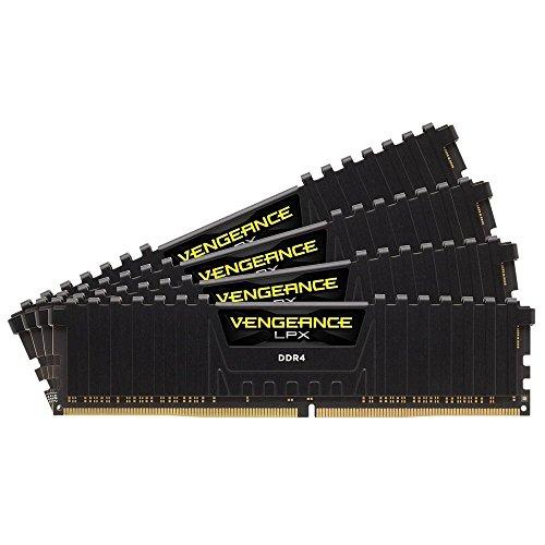 Corsair Vengeance LPX 32GB (4x8GB) DDR4 3200MHz C16 XMP 2,0 High Performance Desktop Arbeitsspeicher Kit, Schwarz