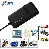 TKSTAR GT02A - Rastreador GPS para vehículo en tiempo real con localizador GPS/GSM/GPR(antirrobo, coche, moto y bicicleta)