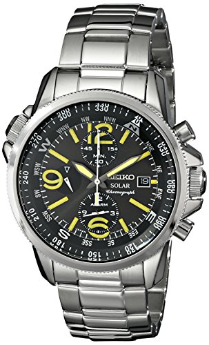Seiko Men's SSC093 'Adventure-Solar Classic'...