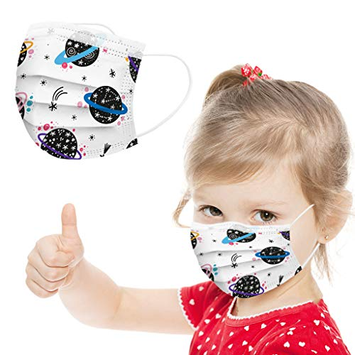 50Pcs Children's Reusable Washable Masks $8.50 (50% OFF)