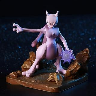 Pokemon Anime-Abbildung Mewtwo Modell Dequoration Figur Rolle Spielzeug Statue Sammler 15cm、Größe:15cm banghai