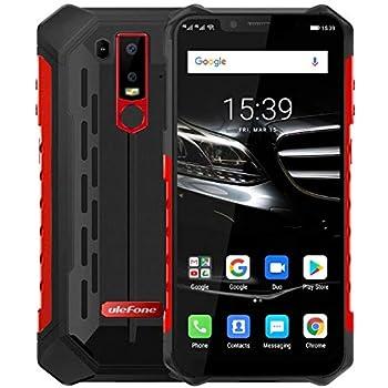 ELEPHONE Soldier Teléfono Móvil Libre, IP68 Android 8.0 (4G LTE),Pantalla QHD 2K de 5.5 Pulgadas (2560 * 1440x), Impermeable/A Prueba de Polvo, Helio X25 Deca Core de 2.5GHz 4GB + 64GB: Amazon.es: Electrónica