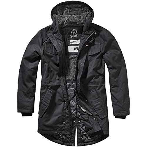 Brandit Marsh Lake Parka - Schwarz - XL