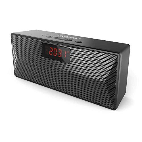 SoundBot SB1023 Bluetooth Speaker with FM Radio & Alarm Clock