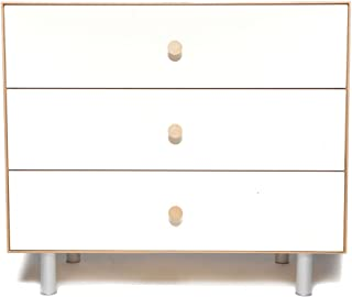 Oeuf Merlin 3 Drawer Dresser in Birch with Classic Base