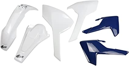 UFO plástico de Kit color blanco azul Husqvarna TX 125300Te 150250300Fe 2503504505015102017Completo Body Kit verkleidungsse