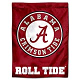 Alabama Crimson Roll Tide Banner House Flag