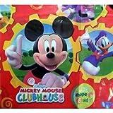 Amscan - Nappe de table rectangulaire en plastique - 120x180cm - Thème Mickey Mouse