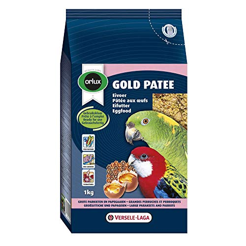 Nobby Orlux Gold Patee Parakeets And Parrots, Large, 1kg