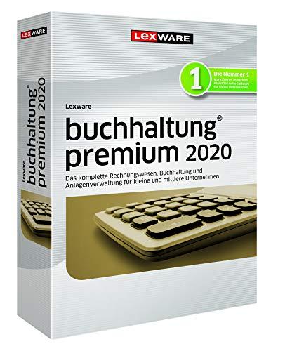 Lexware buchhaltung 2020|premium-Version Minibox (Jahreslizenz)|Einfache Buchhaltungs-Software für Freiberufler, Handwerker, kleine und mittlere Unternehmen